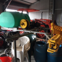 600 ltr Rapid Spray Unit with 6 mtr boom and Honda motor