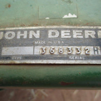 Lot 6 JD Pick Up Front